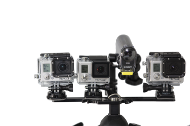 Action Cams on Rig