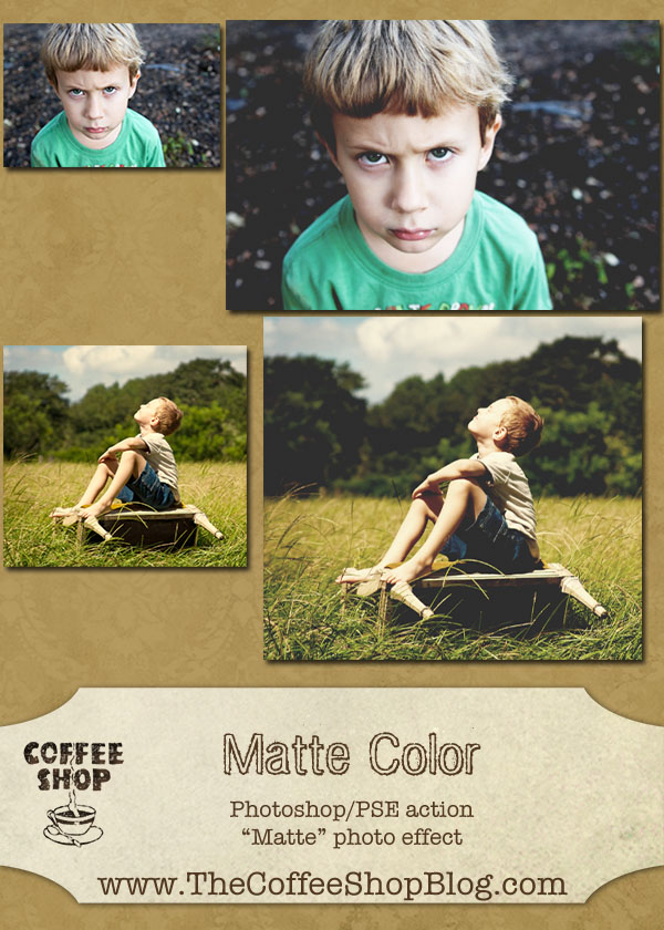 CoffeeShop Matte Color ad