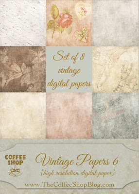 CoffeeShop Vintage Papers 6 ad